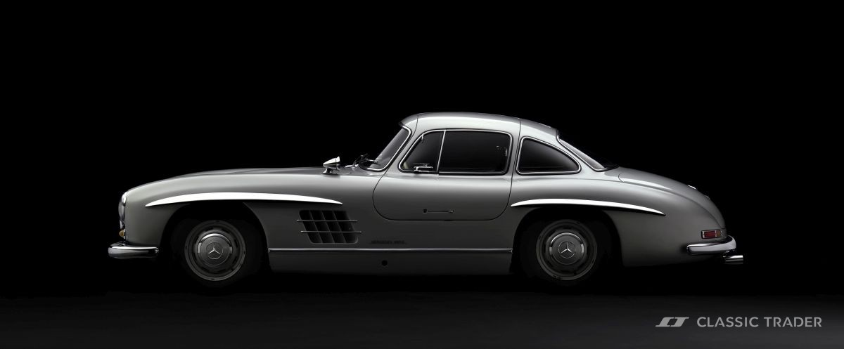 Malina Wolter Mercedes Benz 300 SL Coupe