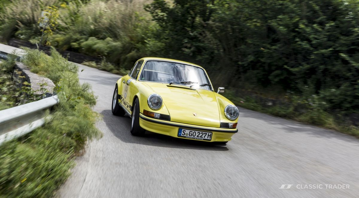 Oldtimer-Boom Porsche 911 RS