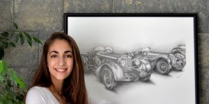 Yamila Zabaljauregui im Classic Trader Portrait
