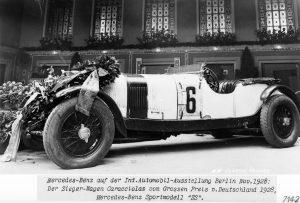 Mercedes-Benz SS Präsentation