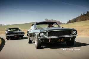Bullitt Reunion Ford Mustang Dodge Charger 1