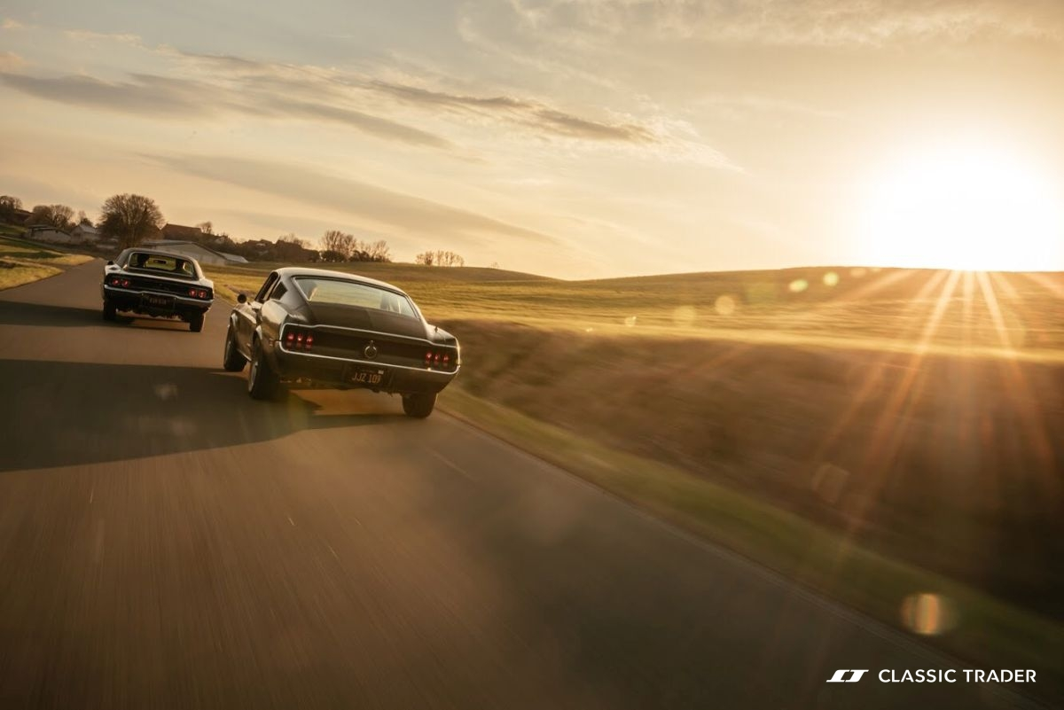 Bullitt Reunion Ford Mustang Dodge Charger 12