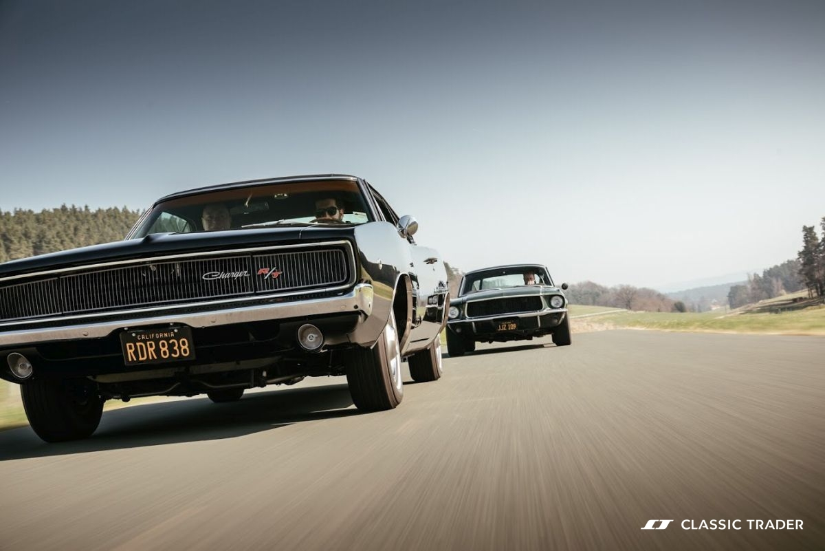 Bullitt Reunion Ford Mustang Dodge Charger 3