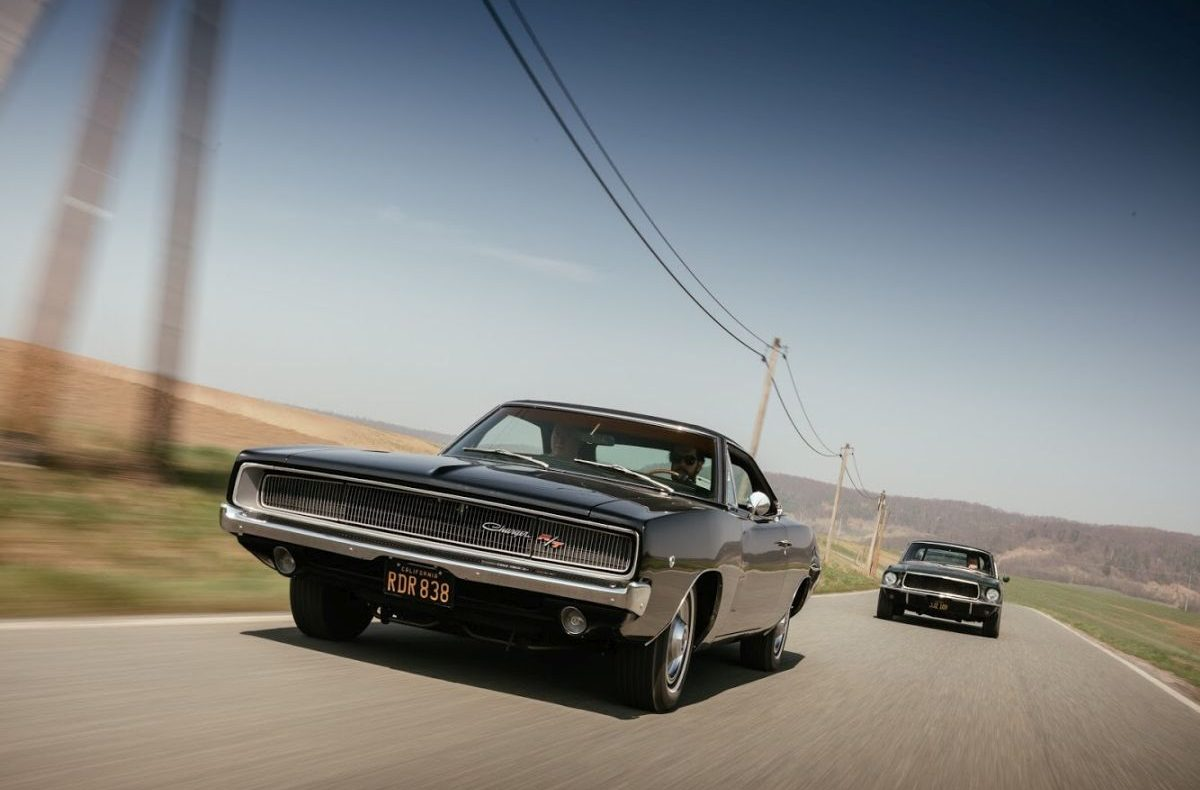 Bullitt Reunion Ford Mustang Dodge Charger 4