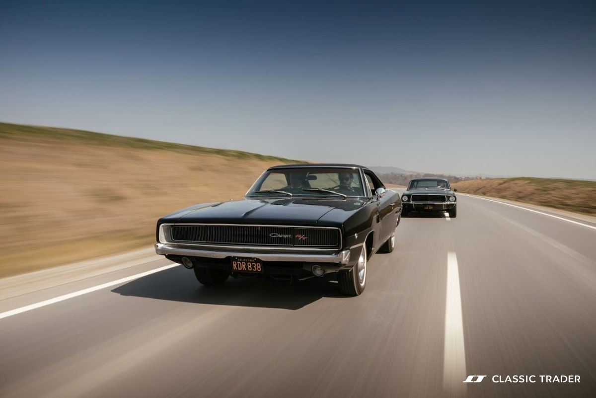 Bullitt Reunion Ford Mustang Dodge Charger 5
