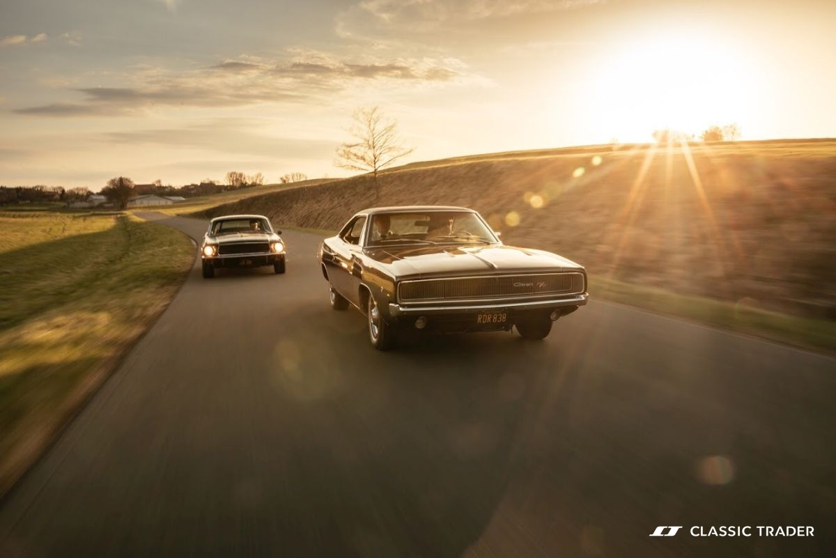 Bullitt Reunion Ford Mustang Dodge Charger 7