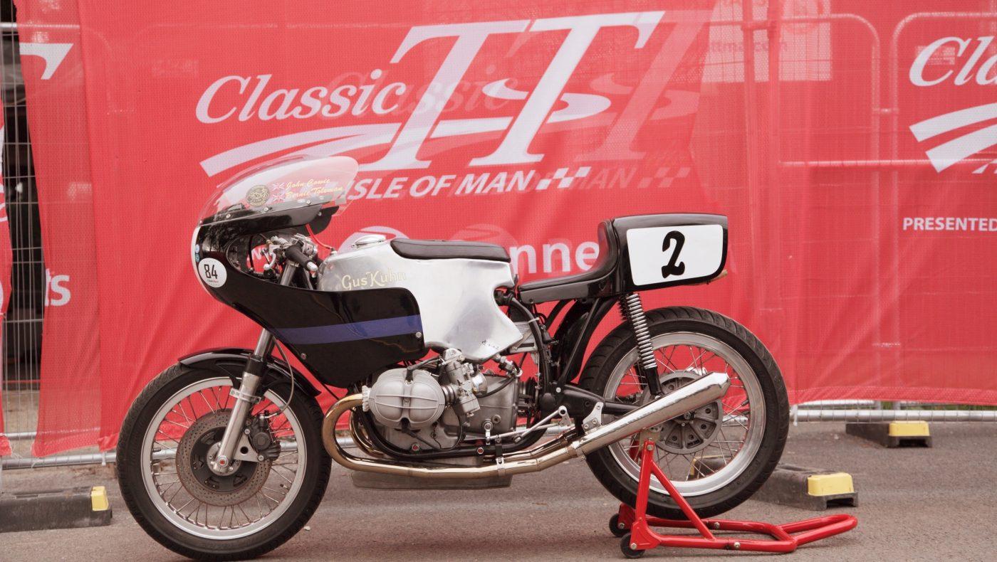 Isle of Man Classic TT 2018 Gus Kuhn BMW