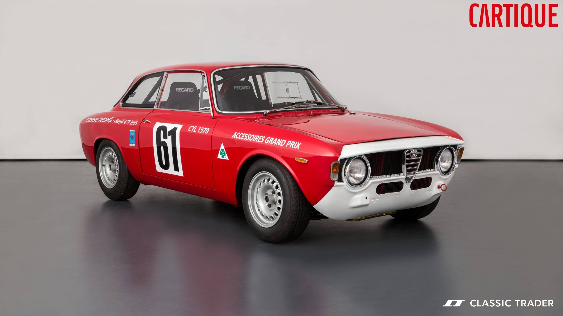 Alfa Romeo Giulia Sprint GTA Rennversion