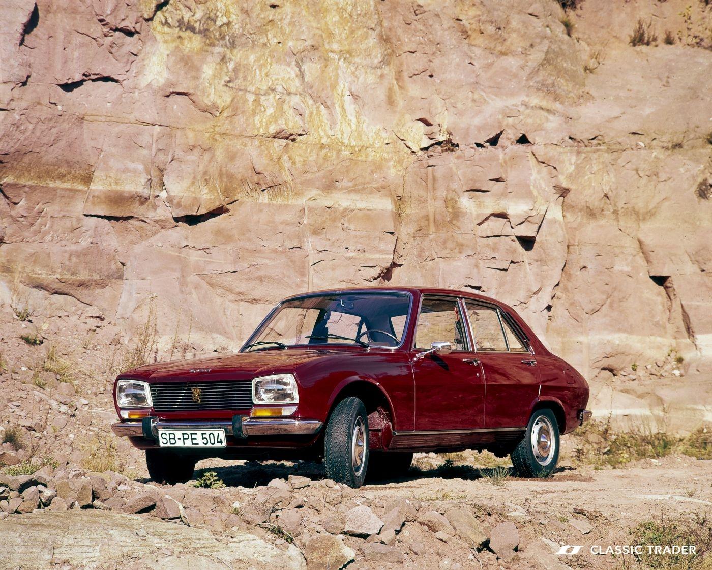 Einstiegsklassiker aus Frankreich Peugeot 504 1