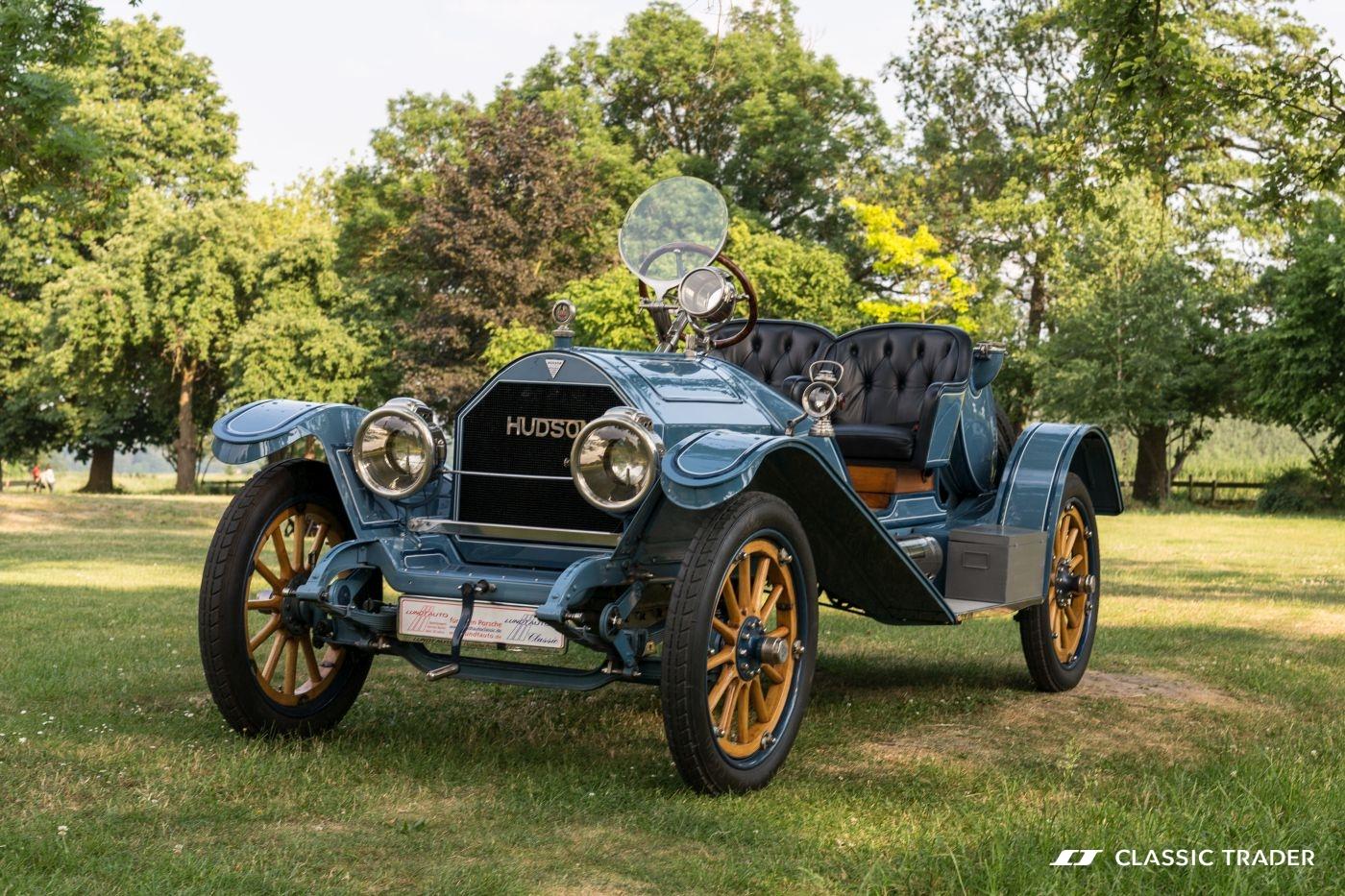 Fünf Vorkriegs-Klassiker Hudson 33 3