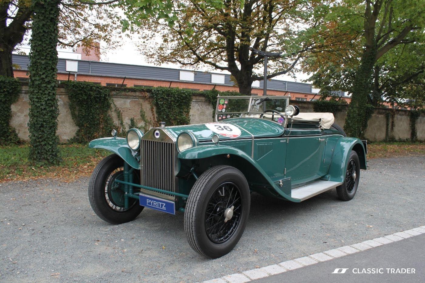 Fünf Vorkriegs-Klassiker Lancia Lambda 1