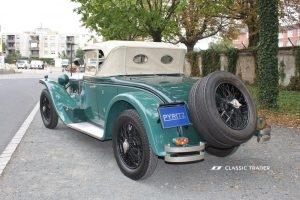 Fünf Vorkriegs-Klassiker Lancia Lambda 4