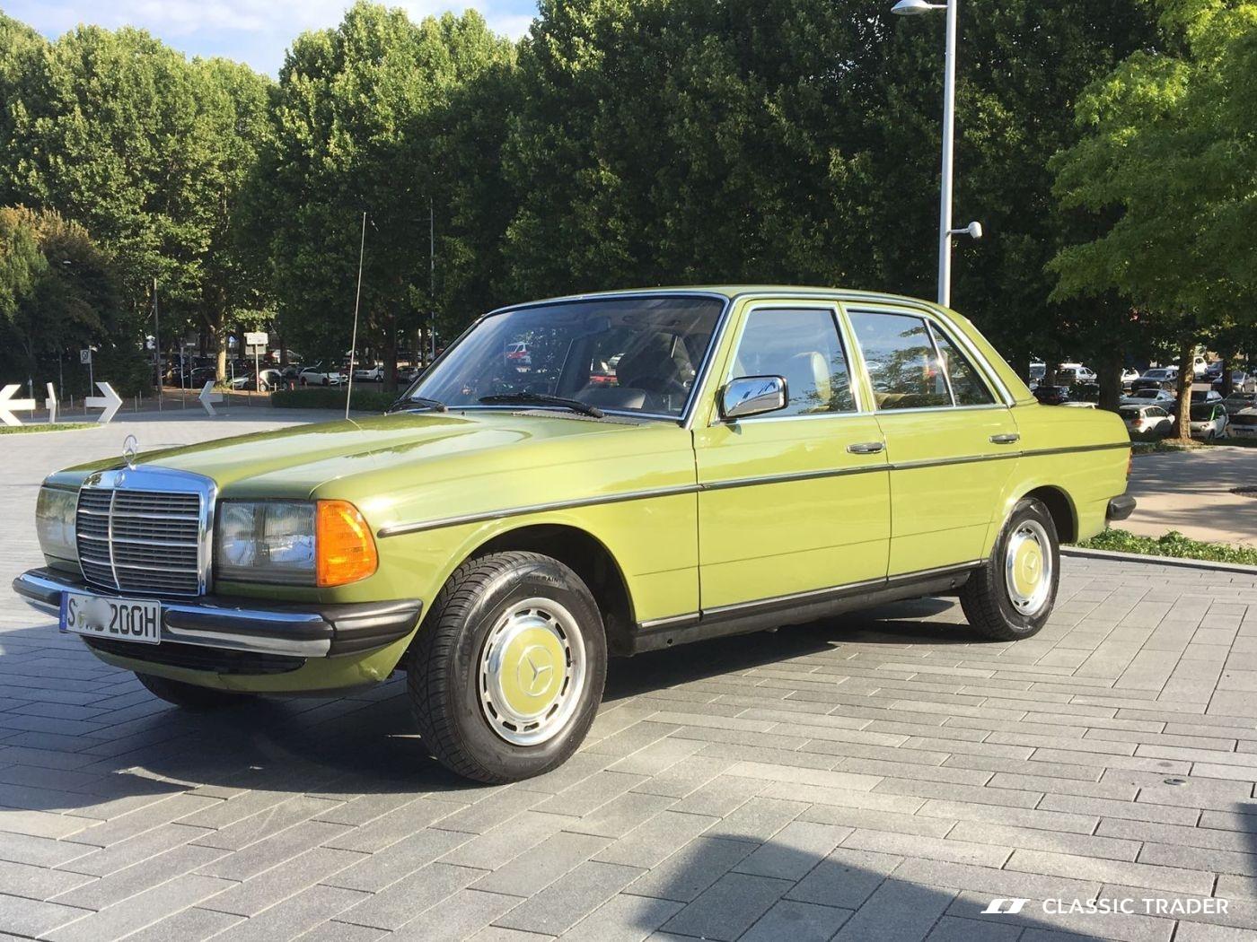 Mercedes Benz 200 D W 123 1