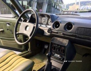 Mercedes Benz 200 D W 123 4a