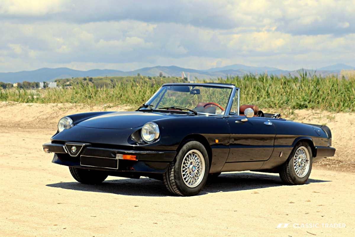 Die begehrtesten Oldtimer der Welt - Alfa Romeo Spider