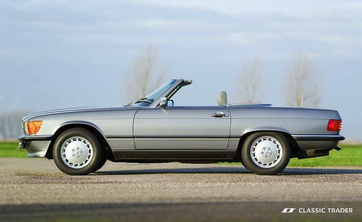 Die begehrtesten Oldtimer der Welt - Mercedes-Benz R107