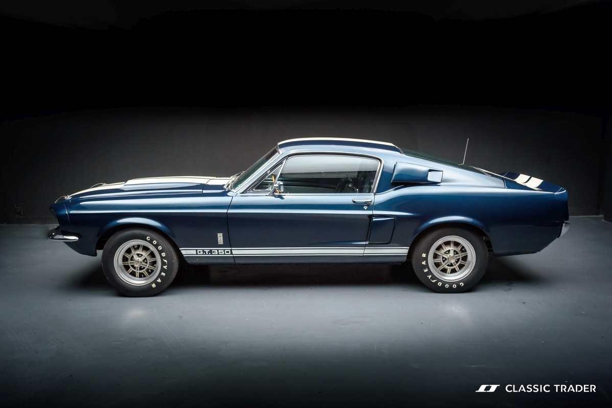 Die begehrtesten Oldtimer der Welt - Shelby Mustang GT350