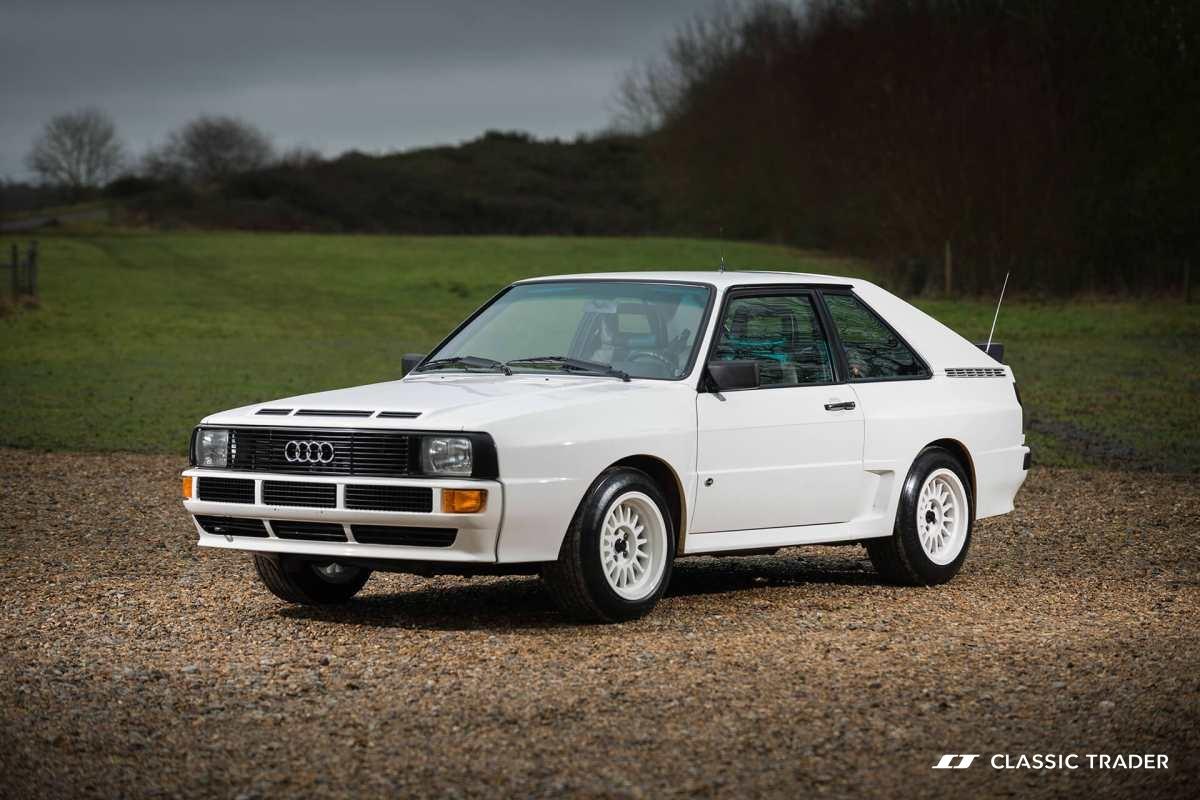 Die begehrtesten Oldtimer der Welt - Audi quattro