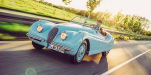 Jaguar XK 120 – Traum der Schönen und Reichen