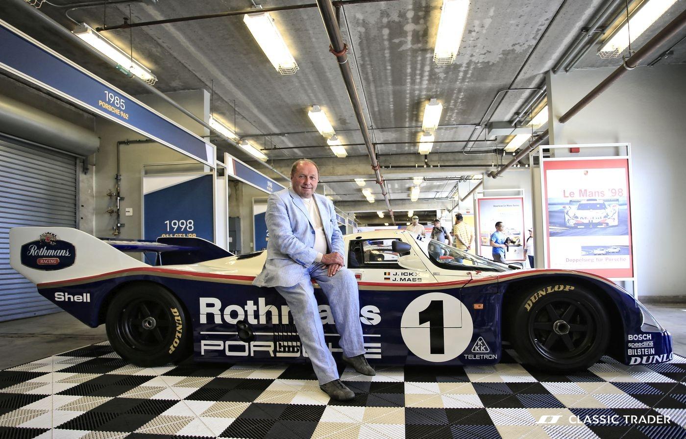 Rennsport Reunion VI Porsche Jochen Maass
