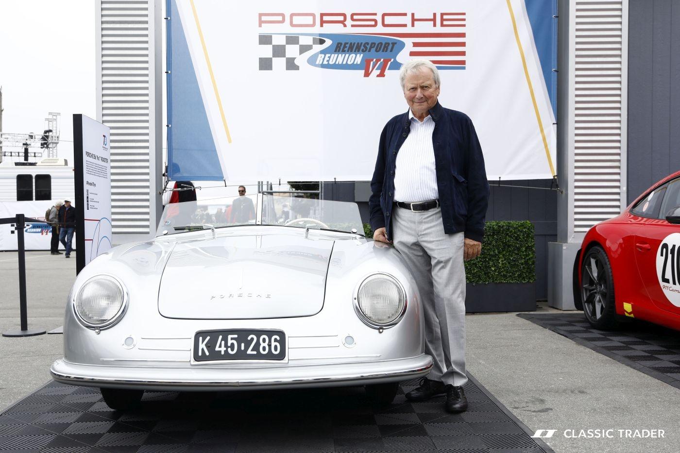 Rennsport Reunion VI Wolfgang Porsche 1