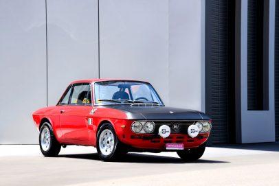 Renn-Tuning bei Oldtimern Lancia Fulvia (22)