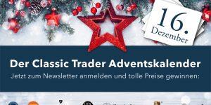 Der Classic Trader Adventskalender: Tag 16