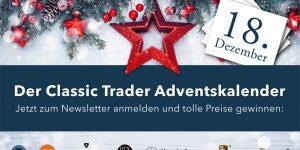 Der Classic Trader Adventskalender: Tag 18