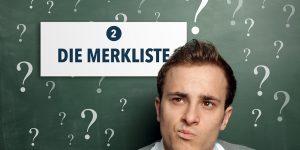 Das Classic Trader How-To: Die Merkliste