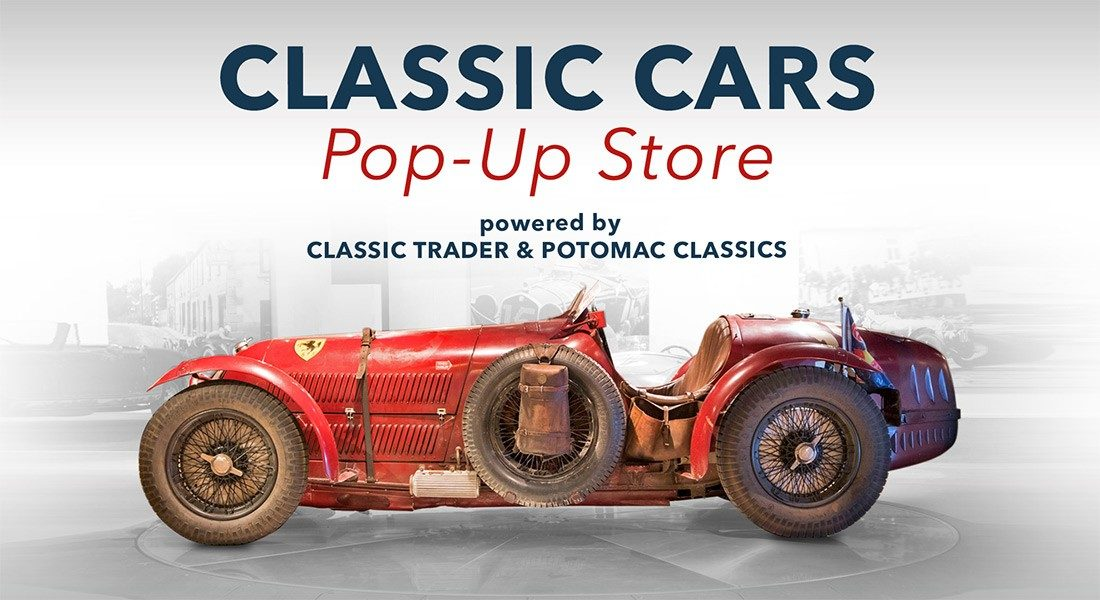 Classic Cars Pop-Up Store Visual