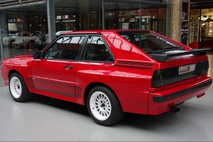 Audi Sport quattro rear side