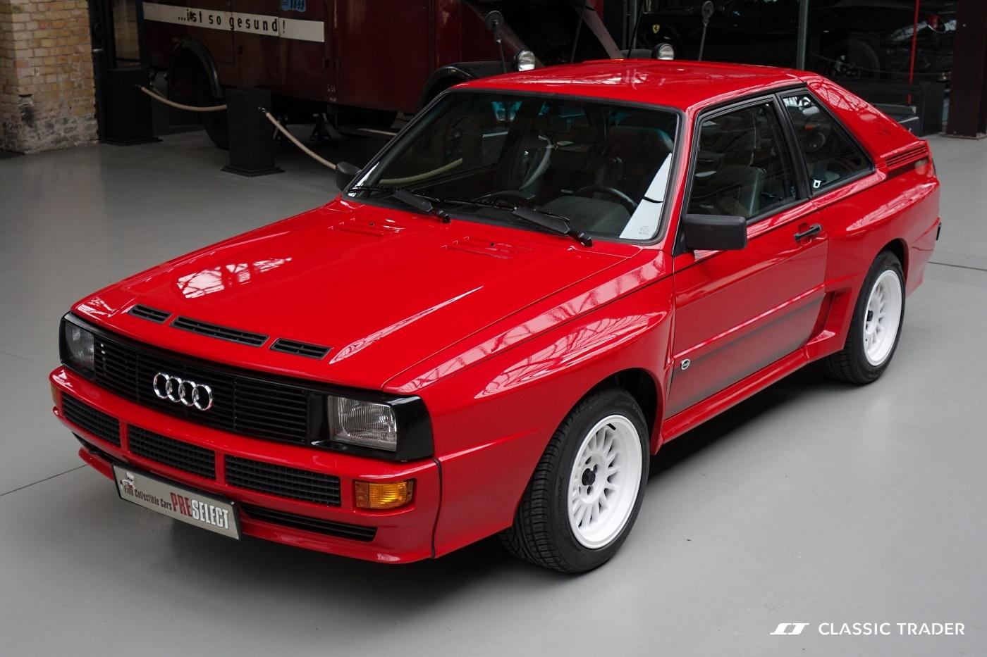 Premium price scored on Classic Trader for Audi Sport quattro | audi sports car price