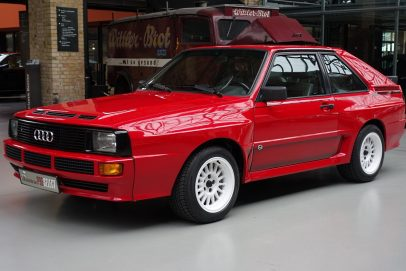 Audi Sport quattro front view