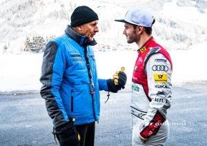 GP Ice Race Hans Joachim Stuck Daniel Abt