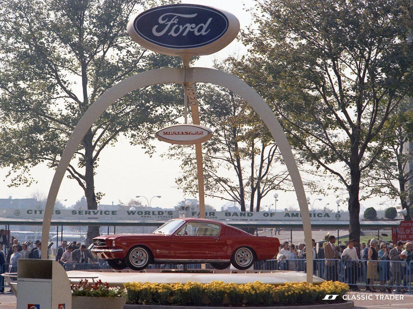 1964 Ford Mustang Praesentation