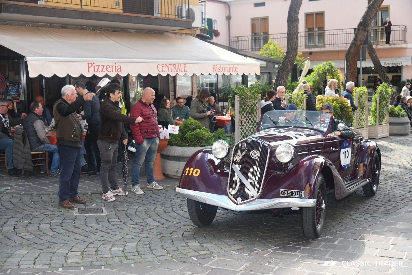 Mille Miglia 2019 Giancarlo Fisichella Luigino Tommasini (5)