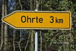 Roadsign Ohrte