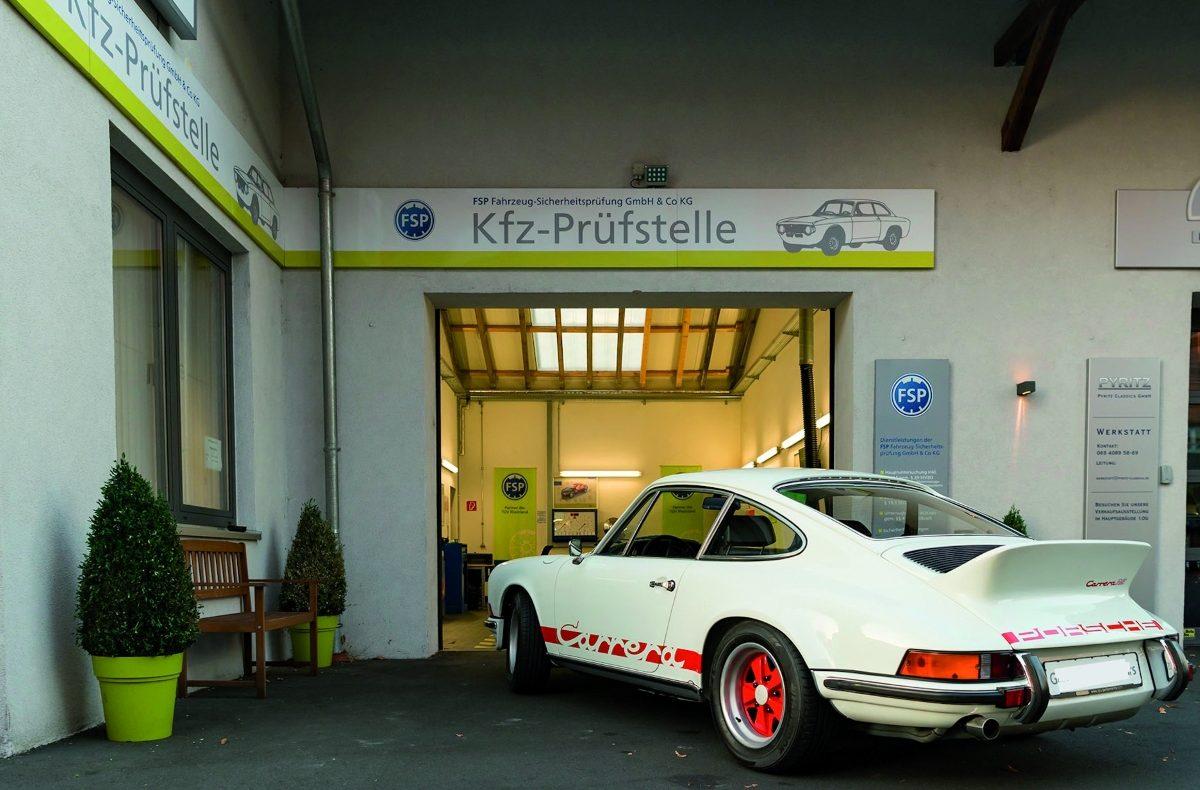 TÜV FSP Porsche 911