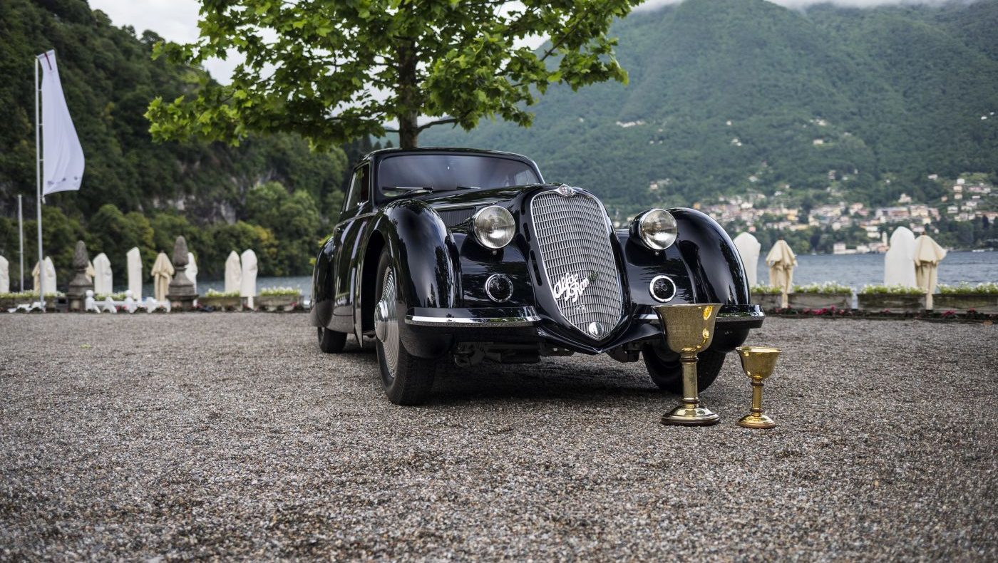 Concorso d'Eleganza Villa d'Este 2019 Alfa Romeo 8C (3)