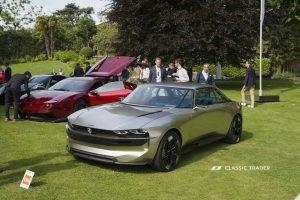 Concorso d'Eleganza Villa d'Este 2019 Peugeot E Concept (1)