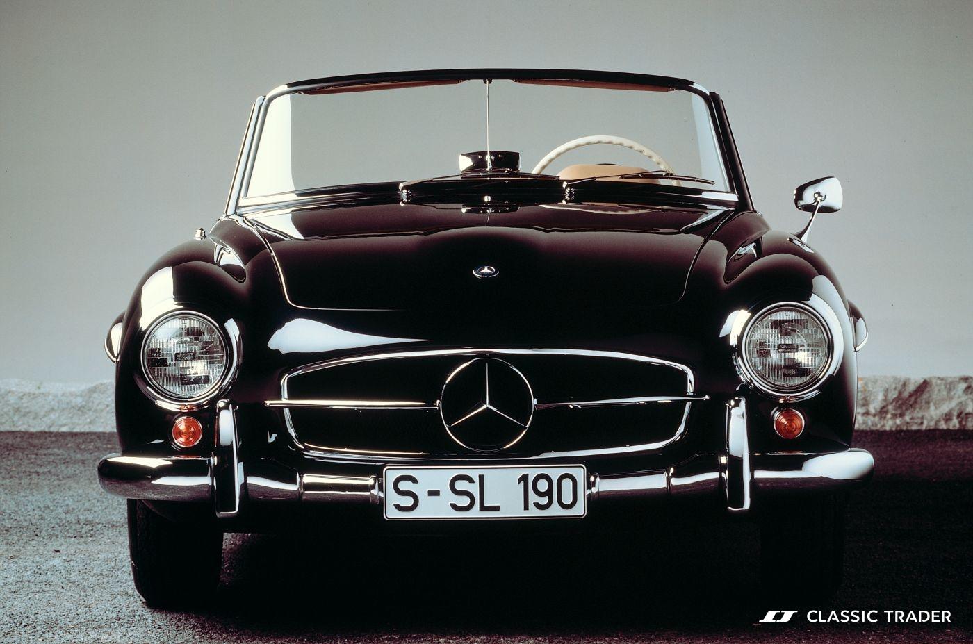 Mercedes-Benz 190 SL W 121 Front Kaufberatung (2)