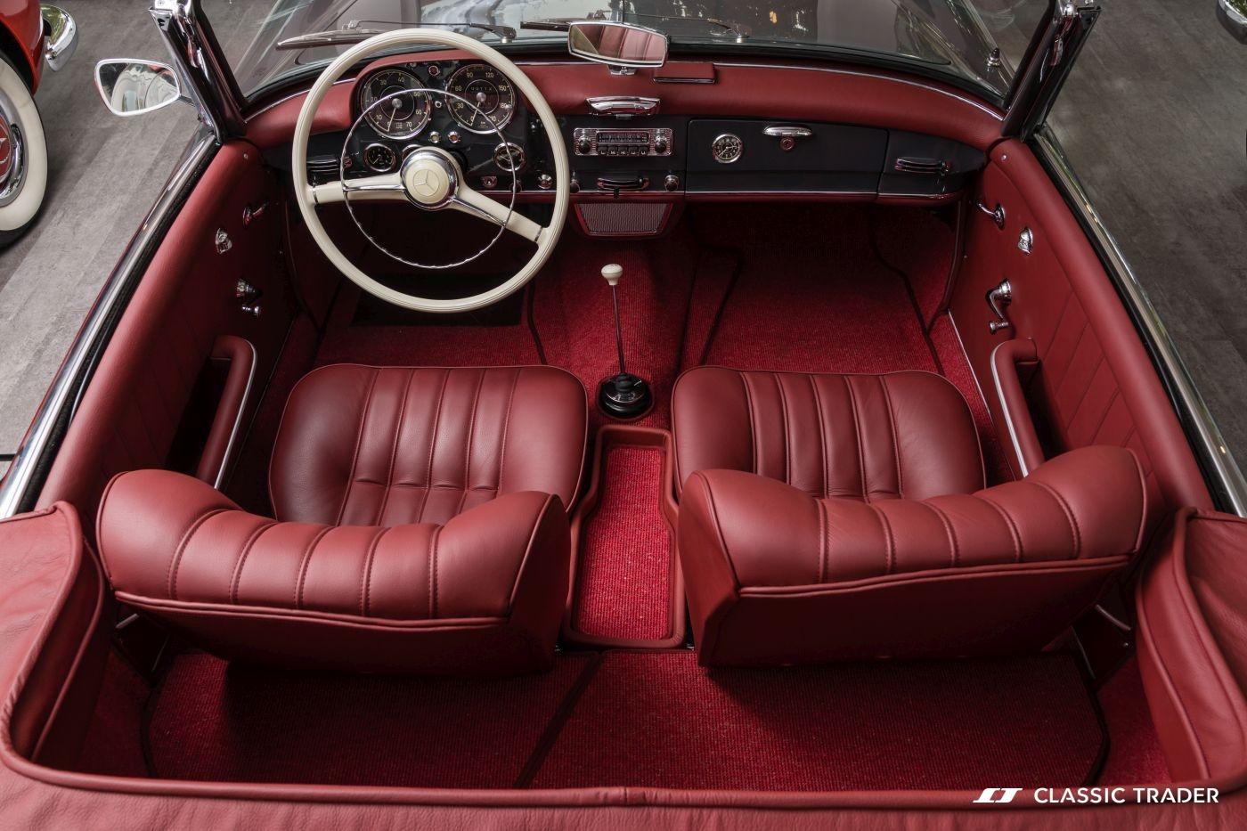 Mercedes-Benz 190 SL W 121 Interieur Kaufberatung (6)