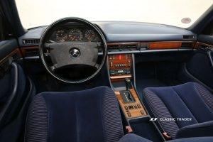 Mercedes-Benz W 126 S Klasse 300 SE Interieur (11)