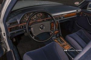 Mercedes-Benz W 126 S Klasse 300 SE Interieur (13)