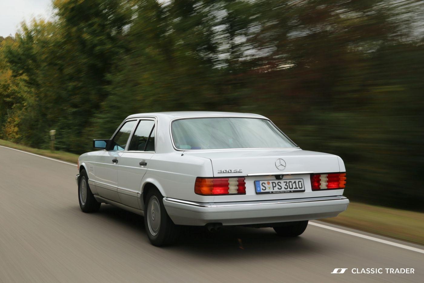 Mercedes-Benz W 126 S Klasse 300 SE 1990 Heck (9)