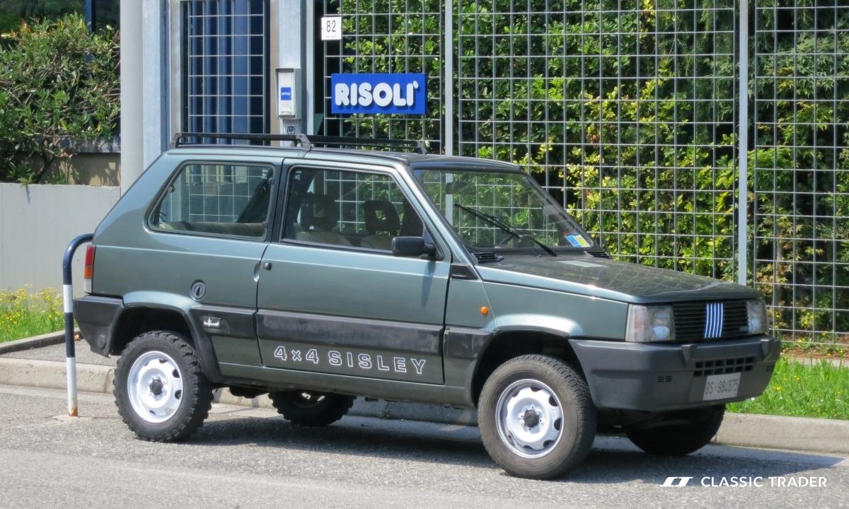 autosan classic - Fiat Panda 4x4 Sisley