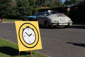 Oldtimer-Rallye Prüfung 1