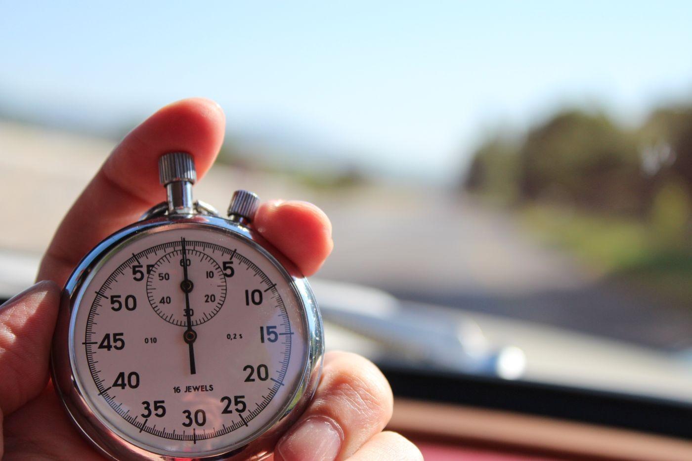 Oldtimer-Rallye Uhr