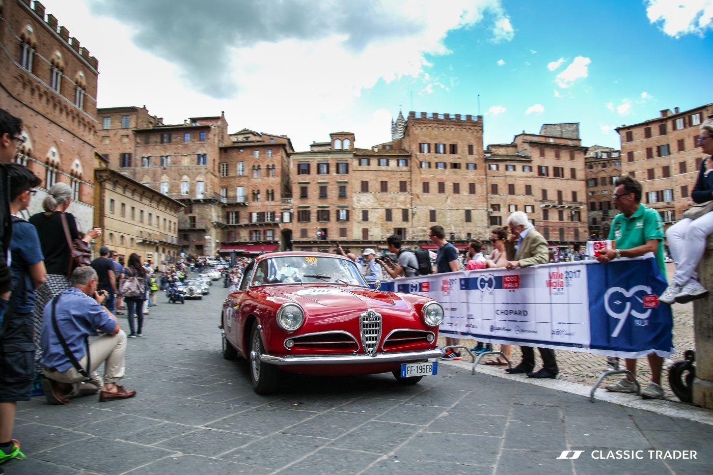 Oldtimer-Rallye Mille Miglia 2019