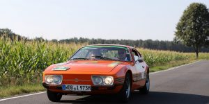 Driving a rallye with Christian Geistdörfer in a VW SP2